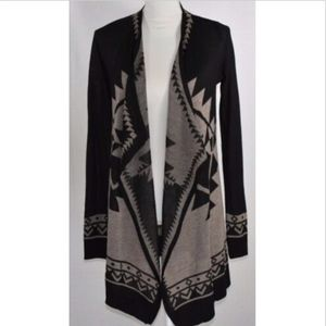 Staccato women's size small cardigan sweater open